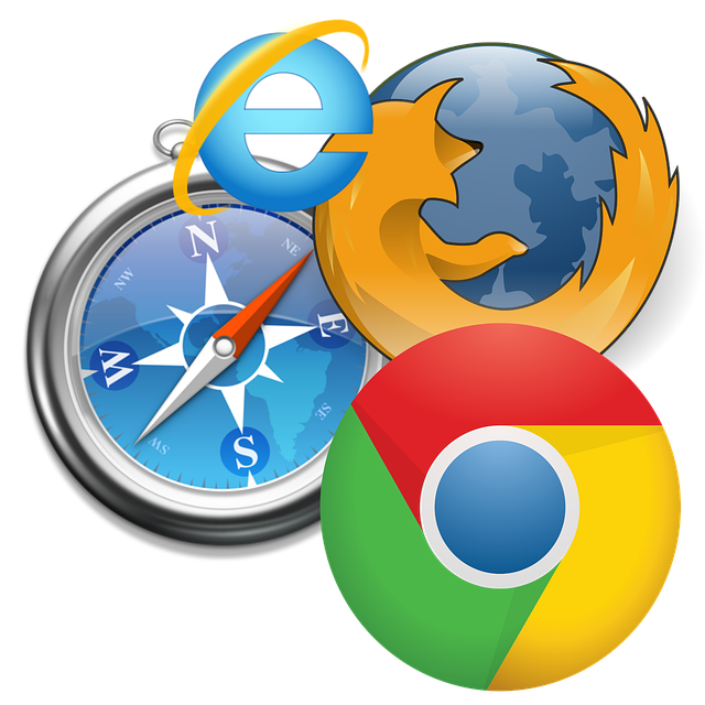 showing 4 browser icons (safari, firefox, chrome, bing)