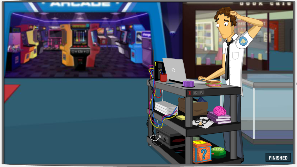 Screenshot of the Network Security section in the Virtual Mall of FTC