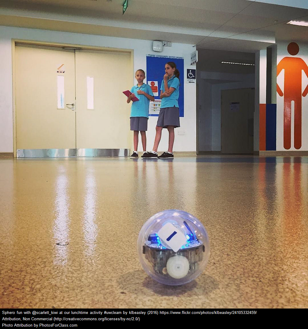 Kids with Sphero