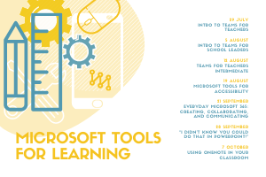 FREE WEBINAR SERIES: Microsoft Tools for Learning