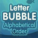 Letter Bubble alphabetical order mouse practice game