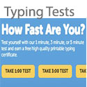How Fast Are You? Free Typing tests for speed and accuracy