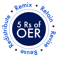 5 Rs of OER Remix Retain Revise Reuse Redistribute