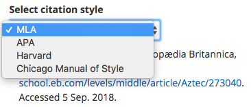citation styles